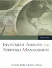 Investment Analysis and Portfolio Management (with Thomson ONE --ExLibrary
