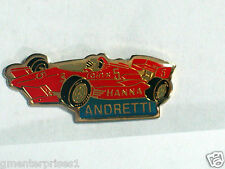 Vintage Andretti Race Car Driver Pin Badge Indy Beatrice Goodyear  (#111)