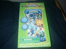WHAM-O INFLATABLE SWIM RAFT SKYLANDERS DESIGN WISH FACTORY 2014 NEW IN BOX