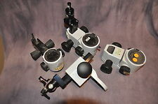 Lot of 3 Leica M3Z Microscope bodies for restoration or parts