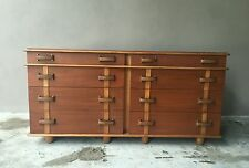 JOHNSON FURNITURE PAUL FRANKL STATION WAGON SERIES DOUBLE CHEST / CREDENZA
