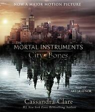 NEW City of Bones by Cassandra Clare Compact Disc Book (English) Free Shipping