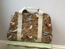 BNWT Cath Kidston Large Garden Birds Oil Cloth Weekend Bag/Holdall, Tagged