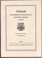 Emder Jahrbuch 1957 Emden  Ostfriesland  Band 37