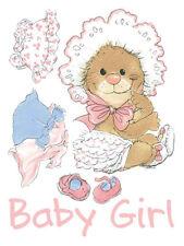 Suzy's Zoo Stickers - Baby Girl Marmot in Dress - #9841