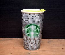 Starbucks Rodarte Ceramic Pixel Tumbler Travel Mug 12 oz Cup 2012 Limited