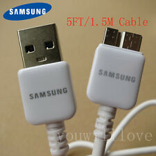 5FT Genuine OEM Samsung Galaxy Note 3 S5 USB 3.0 Data Charging Cord SYNC CABLE