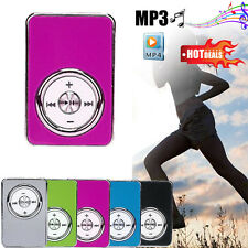 NEW USB1.1/2.0 MP3 Player 32GB Support Micro SD TF Card Music Media 4-5H Metal