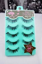 False eyelashes ULTRA LIGHT SPECIAL SHAPE dolly wink style japan 5 pairs ZX024
