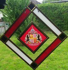 Sunderland F.C. Ventana de Cristal Colgante/Suncatcher. artículo Único