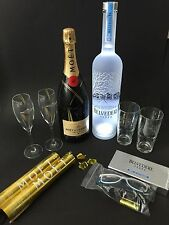 "Moet chandon champán + Belvedere vodka ""magnum fiesta set"" 12% vol. 40% vol."