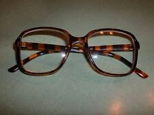 "IMAGE RGCA R115 +5.00 BROWN/TORTOISE FULL-RIM EYEGLASSES FRAMES GLASSES 5"" WIDE"