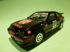 TROFEU 1:43 FORD SIERRA RS COSWORTH - RALLY 3 TEXACO - RARE SELTEN - GOOD COND