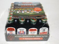 Jägermeister 24er-Pack 0,02 ml mini flaschen  EM 2016 JM Sonderedition