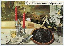 CARTE POSTALE RECETTE  LA TARTE AUX MYRTILLES D EMILE BERNARD N° 89