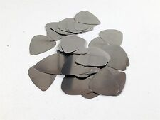 Dunlop Guitar Picks  Stainless Steel  Metal  351 Style  .20mm