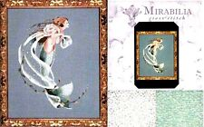 Mirabilia Counted Cross Stitch Chart with Bead Pack ~ DEEPEST LOVE #42 Sale