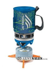 Jetboil Zip BLUE STREAM Lightweight Personal Cooking System/ Camping Gas Stove