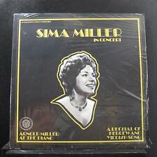 Sima Miller - Recital Of Hebrew And Yiddish LP New Sealed M7328 Chicago Record