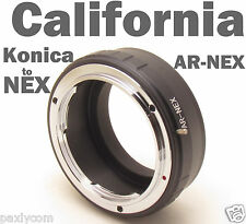 Konica AR to Sony E-mount Camera AR-NEX VG10 20 30 900 FS100 700 EA50 5N Adapter