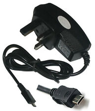 Mains Home Wall Travel Charger For Nokia N85 N86 N97 6500 Classic 6500C Black UK
