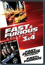 Fast & Furious Collection: 3 & 4 - 2 DISC SET (2017, REGION 1 DVD New)