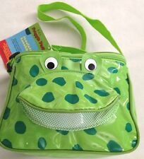 "Lime Green 4X6X8"" Insulated FROGGIE PACK Lunch Box Purse"