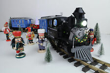 LGB 72327 HLW 15105 G Scale Ultimate Hybrid 71 LED Passenger Christmas Train Set