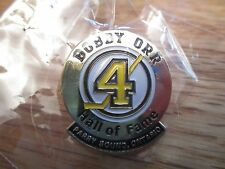 BOBBY ORR No. 4 BOSTON BRUINS Hall Of Fame - Parry Sound, Canada Pin