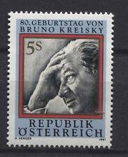 Österreich Austria 2015 80. Geburtstag Bruno Kreisky (1911-1990) Politiker **