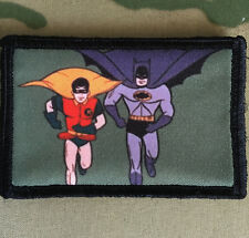 Batman TV Show Morale Patch Tactical Military USA Hook Badge Army Flag