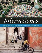 Interacciones (with Audio CD) (World Languages), Galvin Flood, Carol E., Garcia,