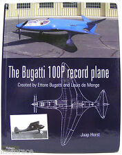 The Bugatti 100P Record Plane book - FIRST EDITION - small blemish on back cover