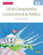 A2 US And Comparative Government And Politics Textbook 2nd Edition,GOOD Book