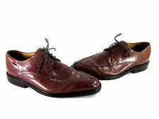 COLE HAAN AIR JACKSON SPLIT TOE OXFORD DRESS SHOE SADDLETAN LEATHER US SZ 10.5 M