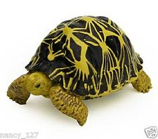 New Original Turtle Radiated Tortoise Model Figurine Collectible Figure Toy