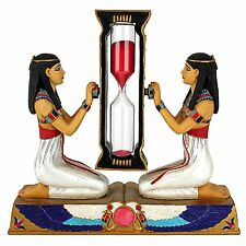 Hourglass Red Sand Timer Watch Clock Sandglass Ancient Egypt Egyptian Home Decor