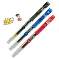 Dong-A JELL ZONE Gell Ink Pens 0.5mm Soft Grip Silky Writing - 3 COLORS