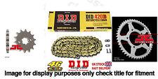 DID Gold Chain Sprocket Kit 11t 52t 420DGB 124 Rieju SMX 50 01-08
