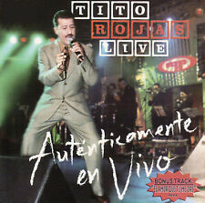 2 CD Set NEW/Sealed Tito Rojas Live , Autenticamente En Vivo
