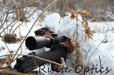 Snow Field Camouflage Clothes Ghillie Suit f Sniper CS Airsoft Hunting