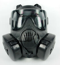 ZUJZHE M50 Full Face Fan Airsoft Mask - Black