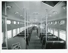 6CC799 1940s/70s CHICAGO SURFACE LINES 7000 SERIES IN SHOP INTERIOR FRONT #7062