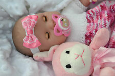 "PJs BERENGUER LA NEWBORN 16"" SOFT BODY SNUGGLY BABY GIRL DOLL FOR REBORN PLAY BN"