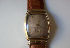 **True Vintage Benrus!!! Rectangular Mechanical Gold Filled Men Watch Works