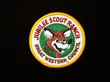 BOY SCOUT   JUBILEE SCOUT RANCH PP  GREAT WESTERN COUNCIL      CAL