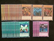 YU-GI-OH 40 CARD EGYPTIAN GOD DECK INCLUDES SLIFER RA & OBELISK  *READY TO PLAY*