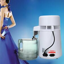 4L 750W Pure Water Distiller Filter Purifier  With Stainless Steel Inner Cap UK