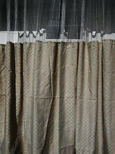 LOT OF 4 - (Pattern D) - HOSPITAL PRIVACY/CUBICLE CURTAINS  - FLAME RETARDANT
