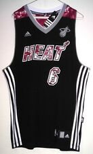 "LeBron James ""Extremely Rare"" Miami Heat Adidas Swingman NBA Jersey Size L"